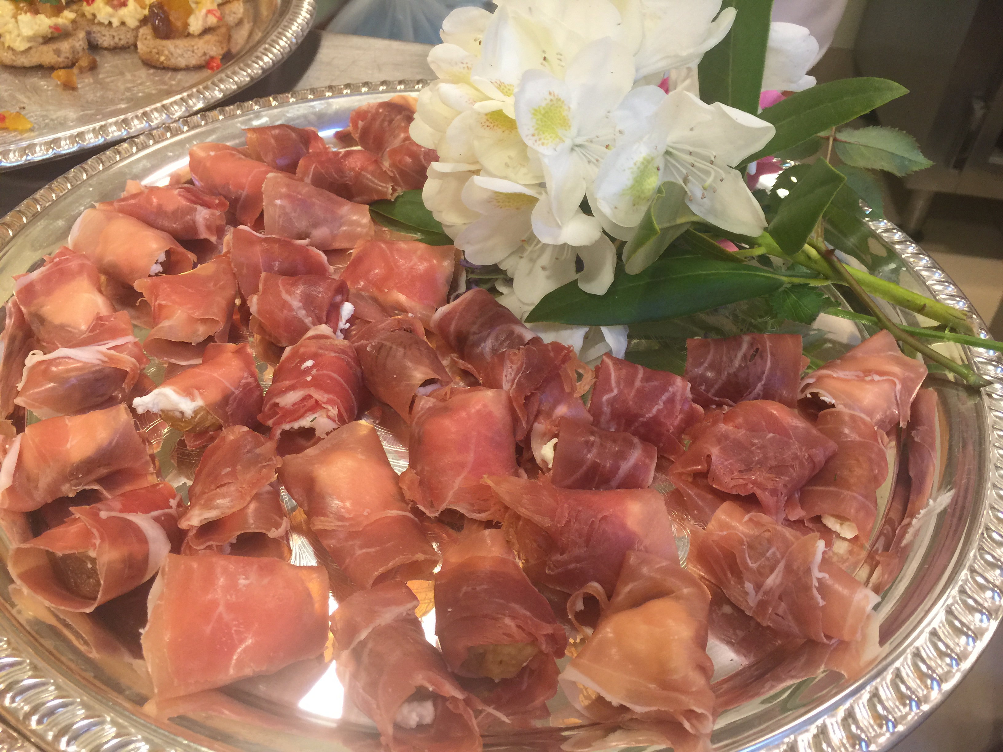 Figs with Goat Cheese and Prosciutto Woman's Club of Greenwich talk –  Jan 2015