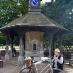 Time Flies Clock Tower outside Princess Diana's Memorial playground