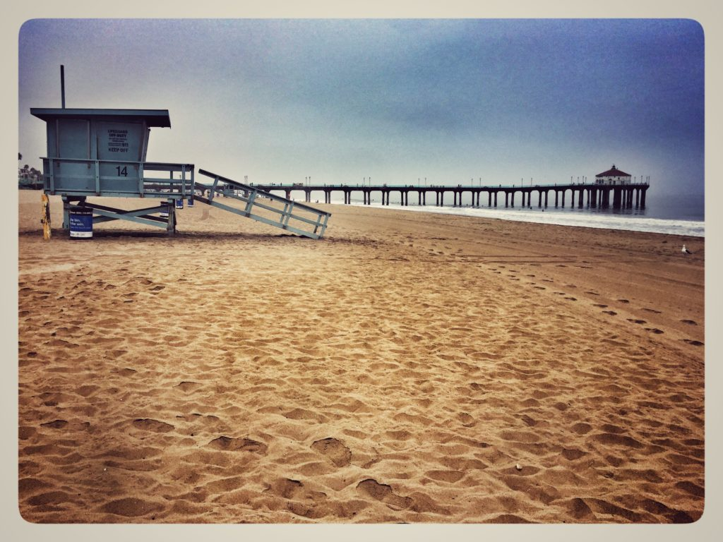 Pier at Manhatten beach