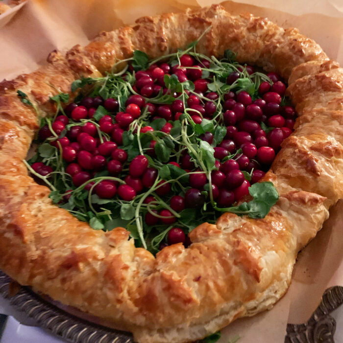 Sausage Roll Wreath