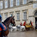 The Golden Carriage with Queen Margrethe 2nd