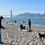 Chrissy Field and Golden Gate Bridge with Andrew and Jackson