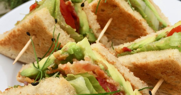 Bacon, Lettuce, Avocado and Tomato Sandwich (BLAT)