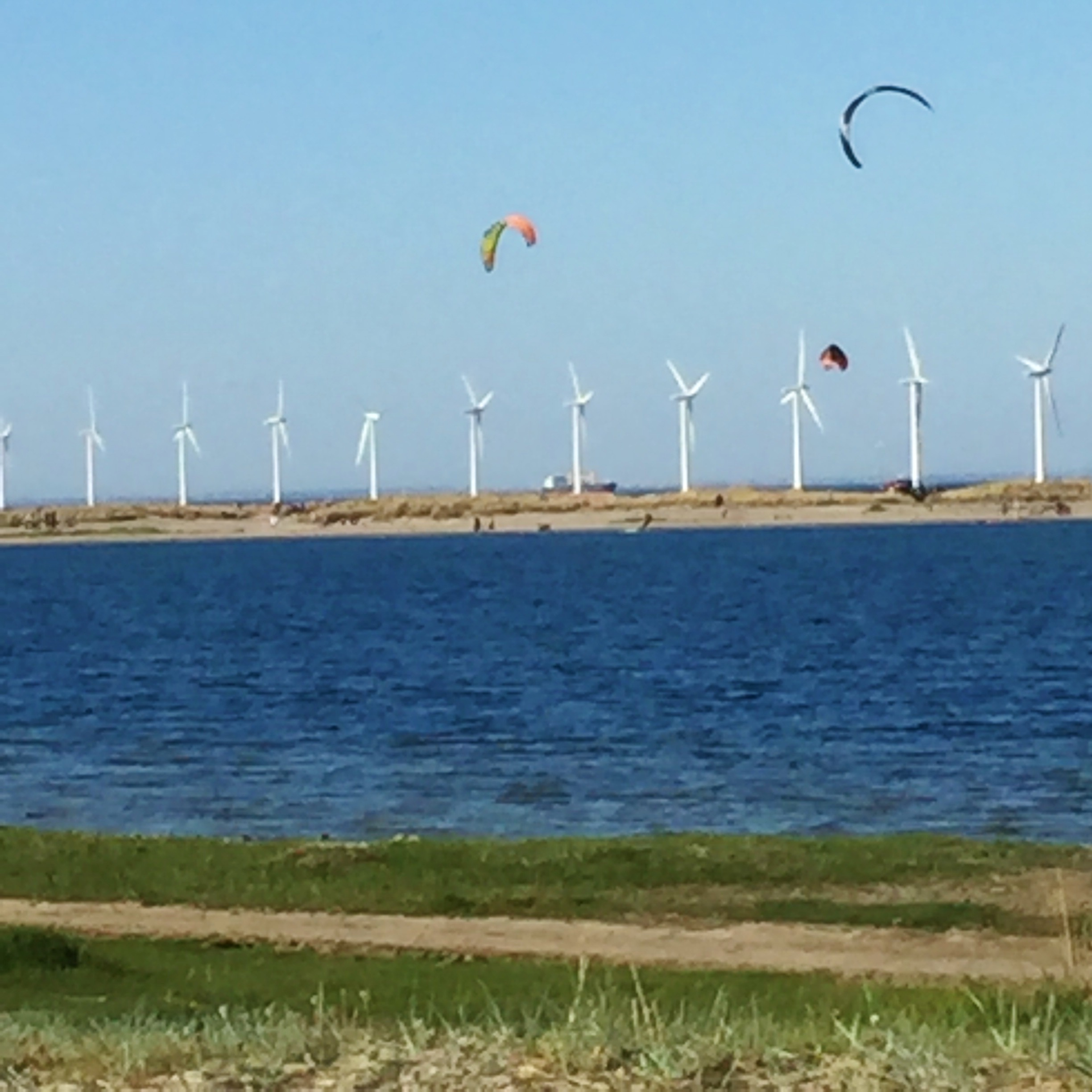 Wind Power at Amagerstrand