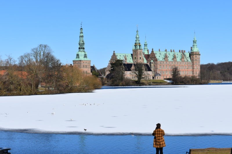Frederiksborg in Winter