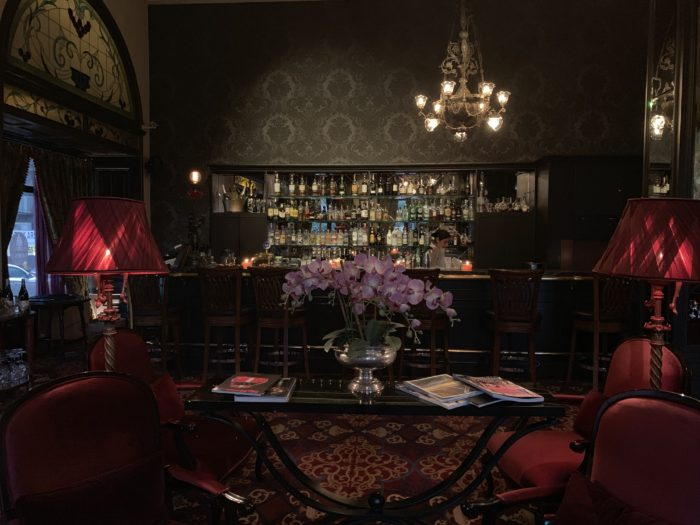 Orient Express bar in the Pera Palace