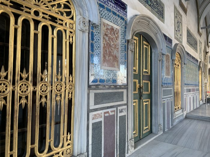The Topkapi Palace in Istanbul